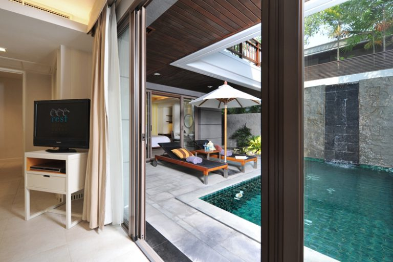 Rest Detail Hotel : North & South Rest Pavilion