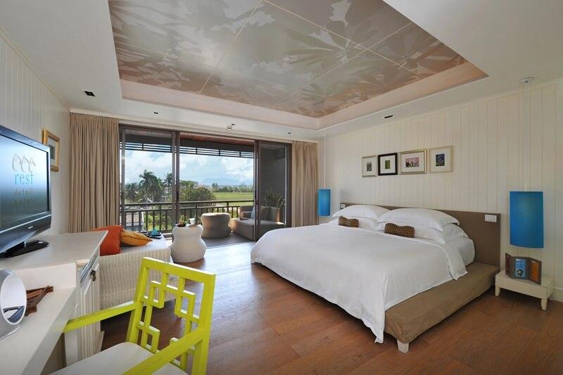 Rest Detail Hotel : 豪华园景房